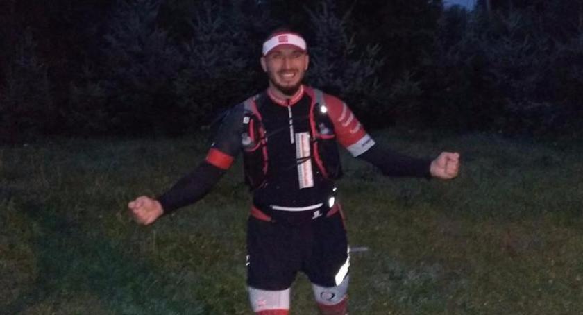 Biegi, Dawid Masny Garwolina Beskidy Ultra Trail! godzin! - zdjęcie, fotografia