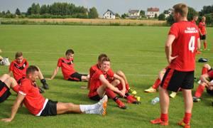 Piłka nożna, Porażka zakończenie przygotowań - zdjęcie, fotografia