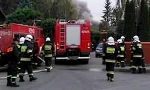 Archiwum Aktualności, Spłonął budynek mieszkalny Kalinowie - zdjęcie, fotografia