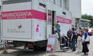 Archiwum Ciekawostki, Bezpłatna mammografia Trąbkach - zdjęcie, fotografia