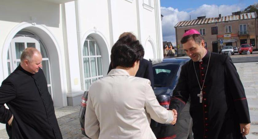 Inne Powiat, Biskup Siedlecki wizytą Żelechowie - zdjęcie, fotografia