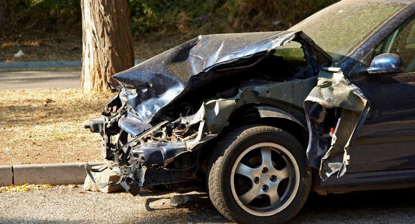 Wypadki drogowe , Śmiertelny wypadek Żelechowskiej żyje kierowca - zdjęcie, fotografia