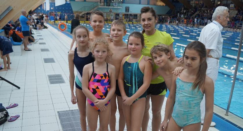 Pływanie, nowymi rekordami Warszawiance - zdjęcie, fotografia