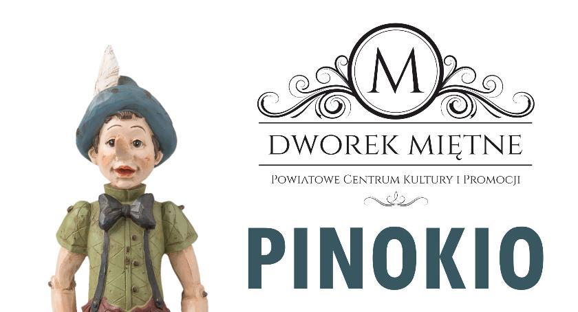 Teatr, Pinokio dzieci ferie Miętnem - zdjęcie, fotografia