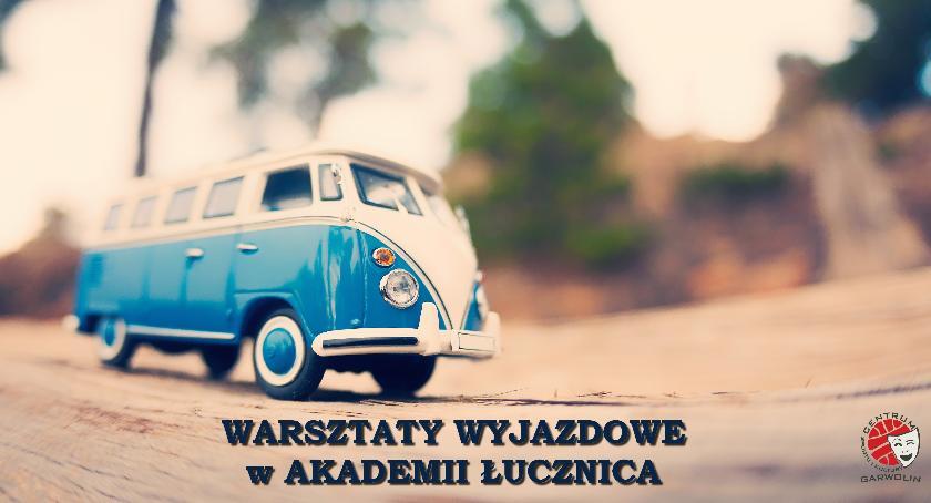 W Garwolinie, Wycieczka warsztatami dzień sztuką Łucznicy - zdjęcie, fotografia
