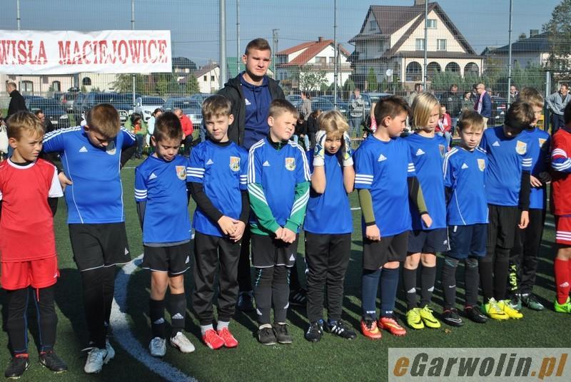 Piłka nożna, Wisła najlepsza Maciejowicach - zdjęcie, fotografia