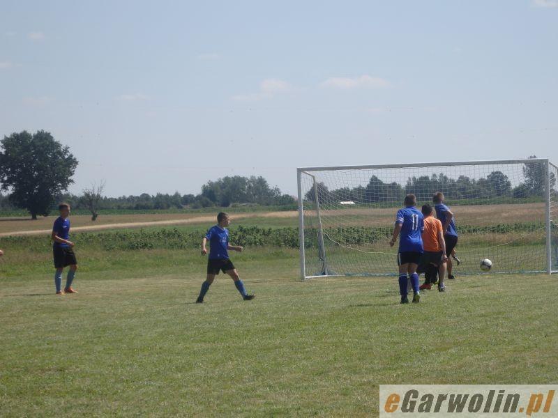 Piłka nożna, Strażacy powalczyli Puchar Burmistrza - zdjęcie, fotografia