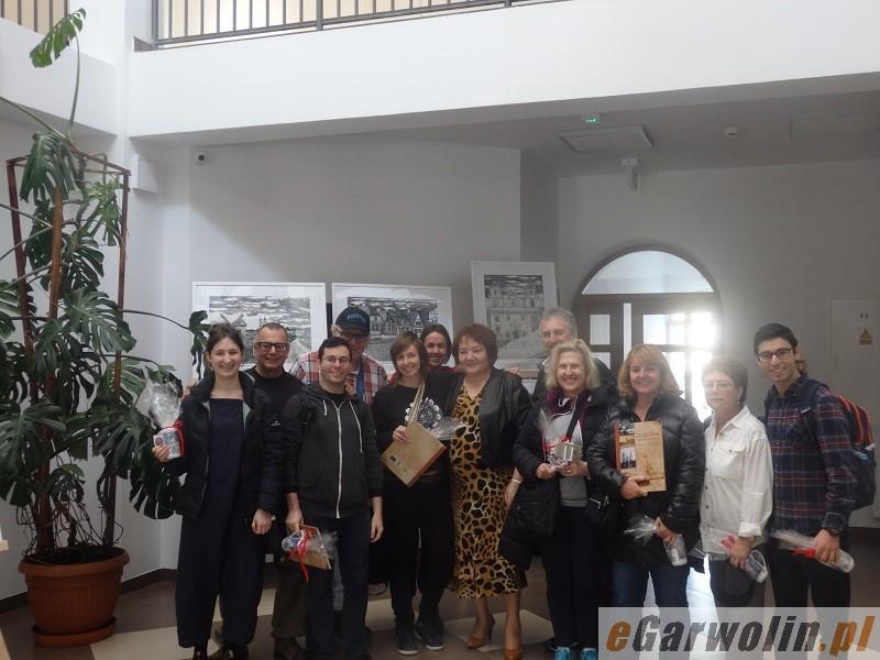 Inne Powiat, Zagraniczni goście żelechowskim ratuszu - zdjęcie, fotografia