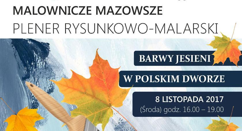 W Powiecie, Zapraszają ostatni jesienny plener Miętnego - zdjęcie, fotografia